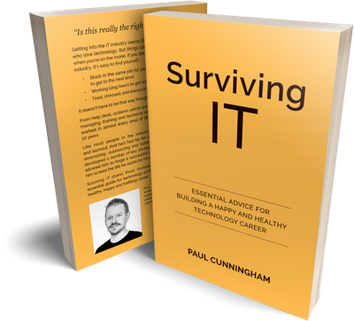 Surviving IT Book Paperback Mockup