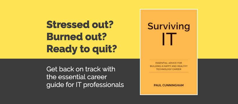 Surviving IT - Get the Book